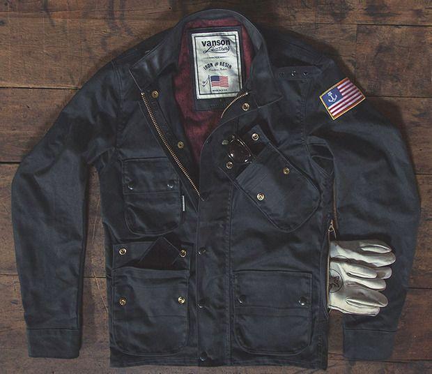 f0d992f3b Iron & Resin + Vanson Leathers Mojave Jacket | Biker jackets ...