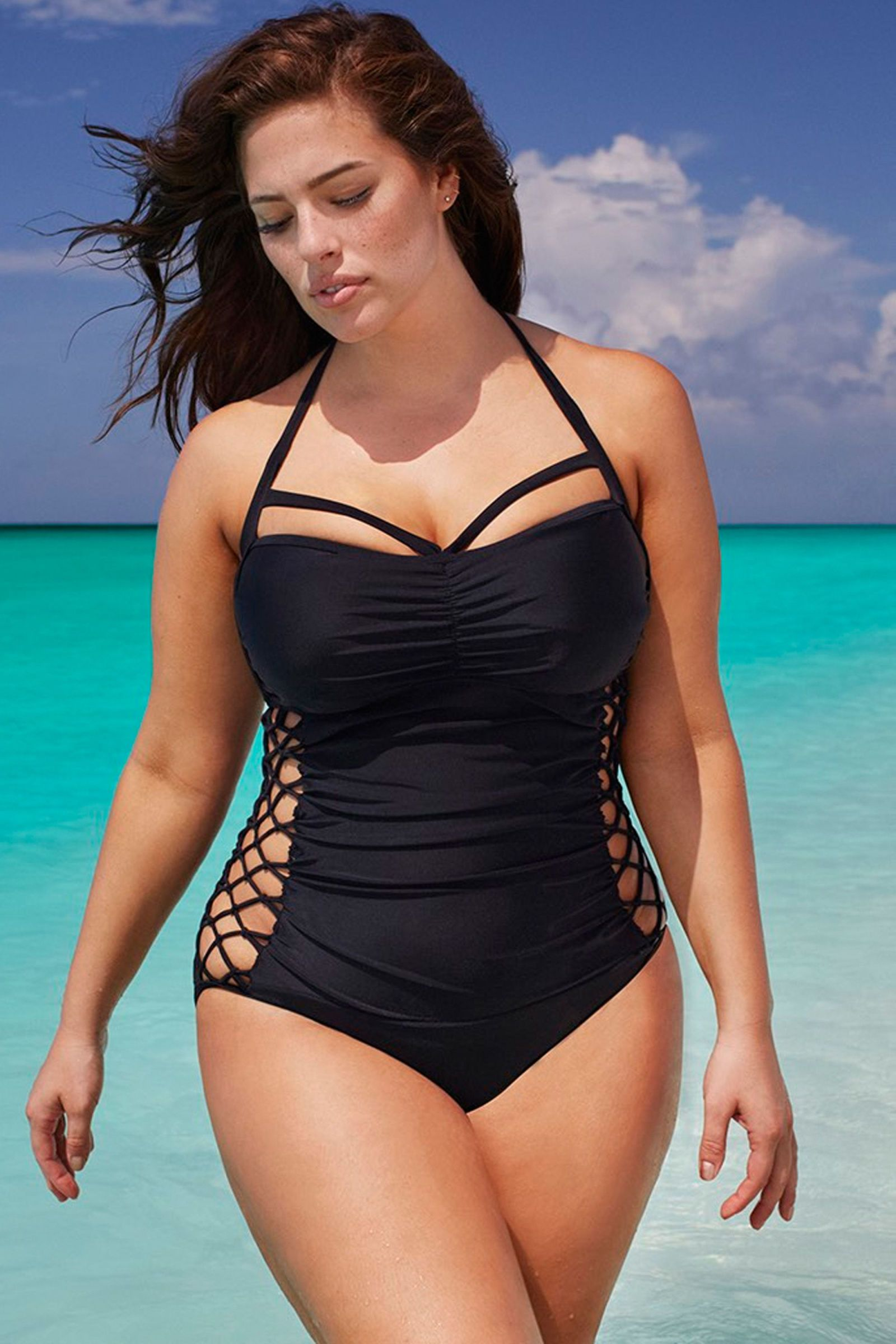 baec68aefe849 ... Swim Sexy Women's Boss Underwire Swimsuit. The 20 Most Flattering One-Piece  Swimsuits