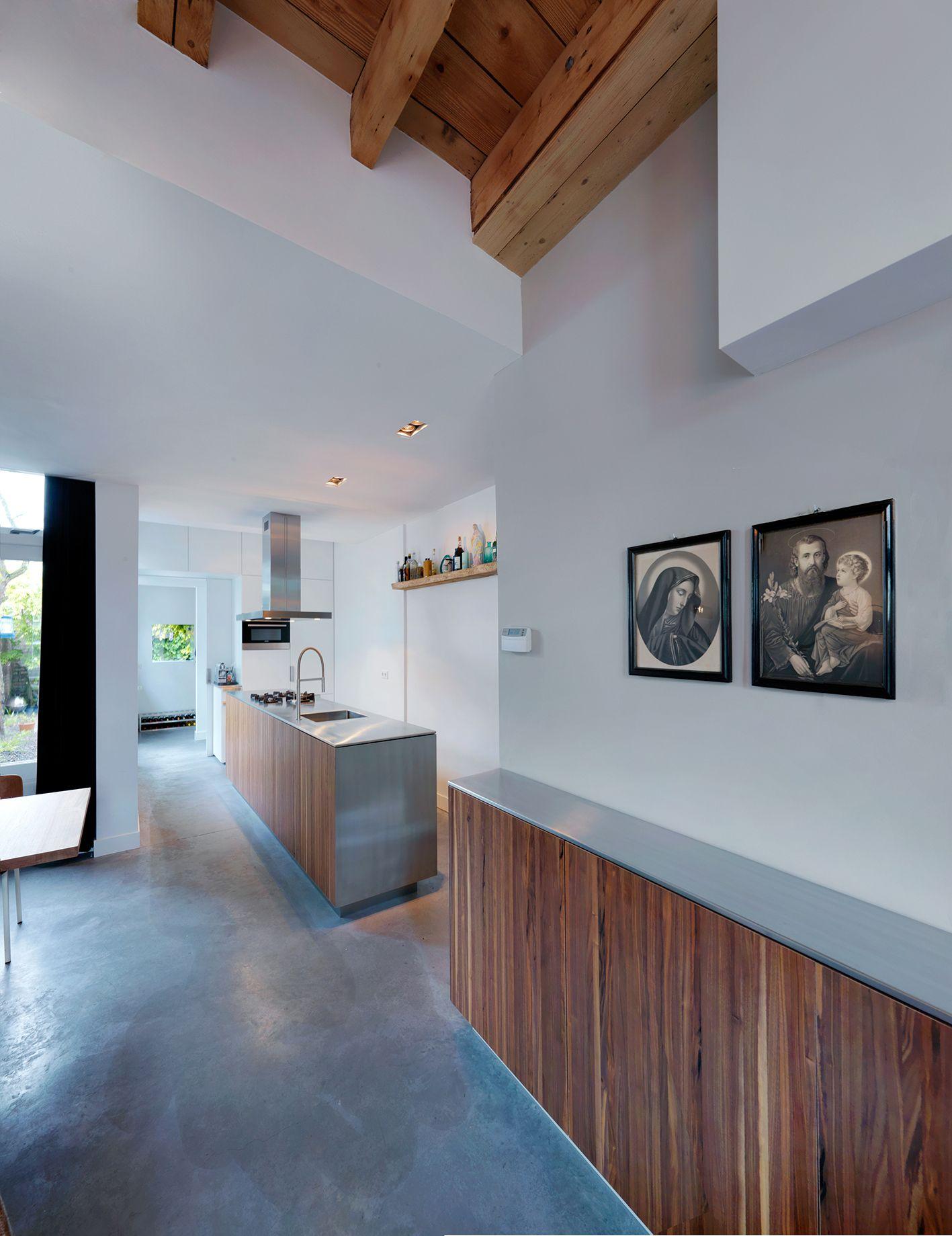 woonhuis s hertogenbosch stucwerk houten