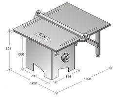 Muebles domoticos como hacer una sierra circular de banco - Sierra circular pequena ...