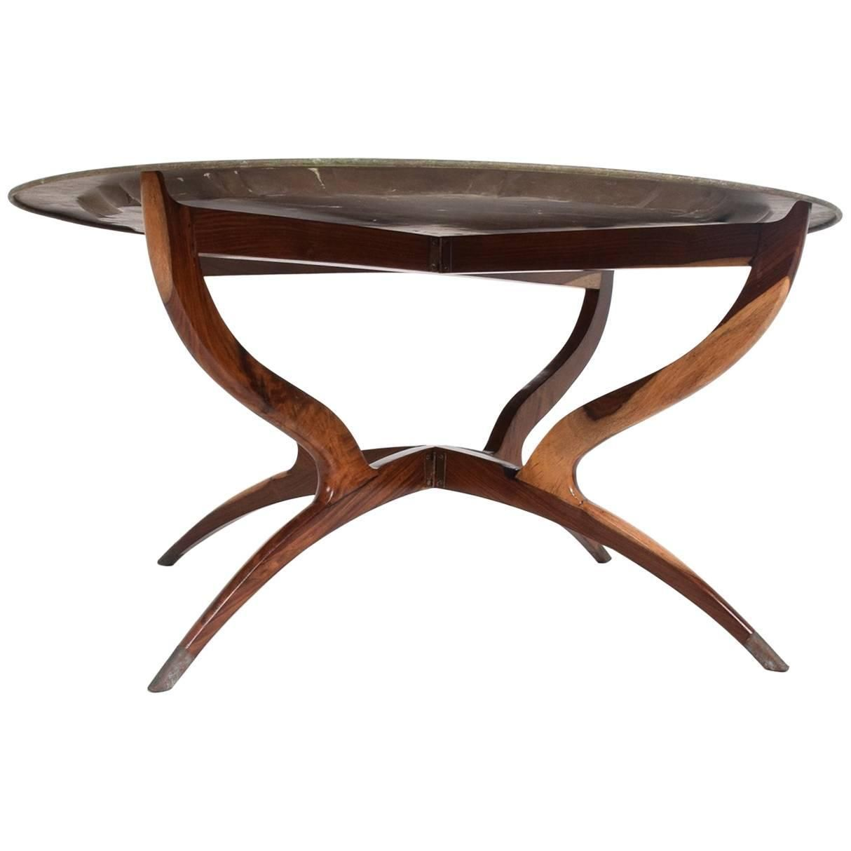 Hollywood Regency Oriental Brass Top Tray Rosewood Base Coffee Table Coffee Tables For Sale Coffee Table Table [ 1214 x 1214 Pixel ]