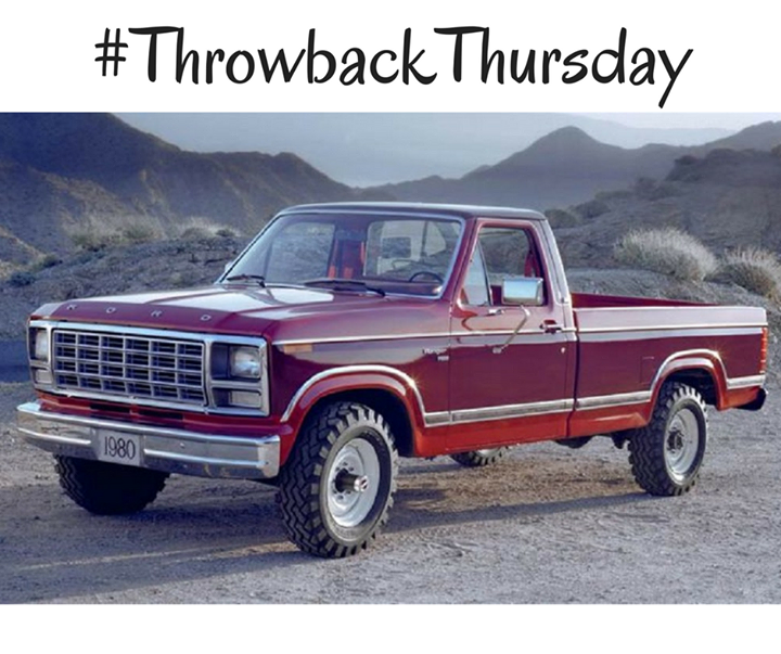 Phil Fitts Ford >> #TBT: 1980 Ford F-150   Throwbacks   Old ford trucks ...