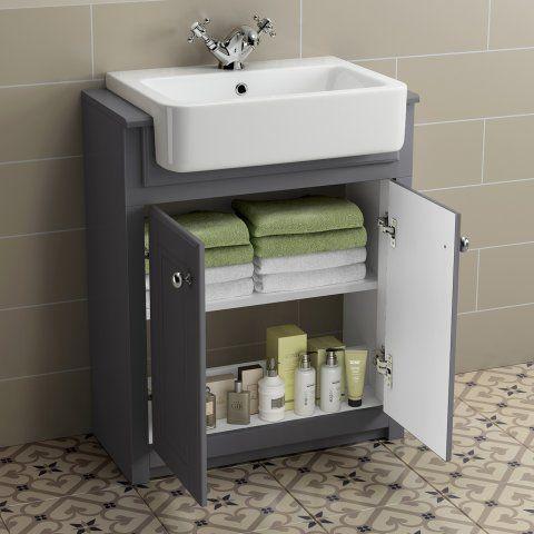 25++ Dark grey bathroom vanity unit ideas