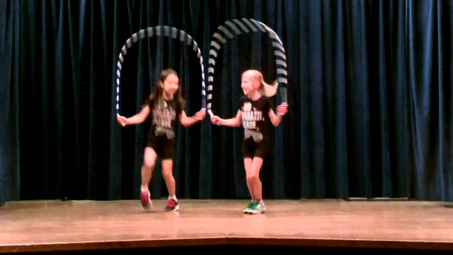 allie and reily | talent show | pinterest