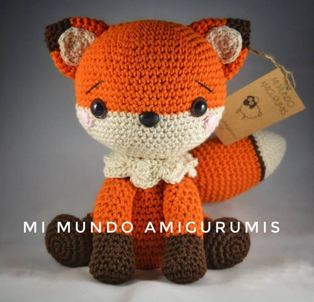 THE SLEEPY FOX – FREE CROCHET PATTERN #FOX #foxcrochet ... | 985x1024