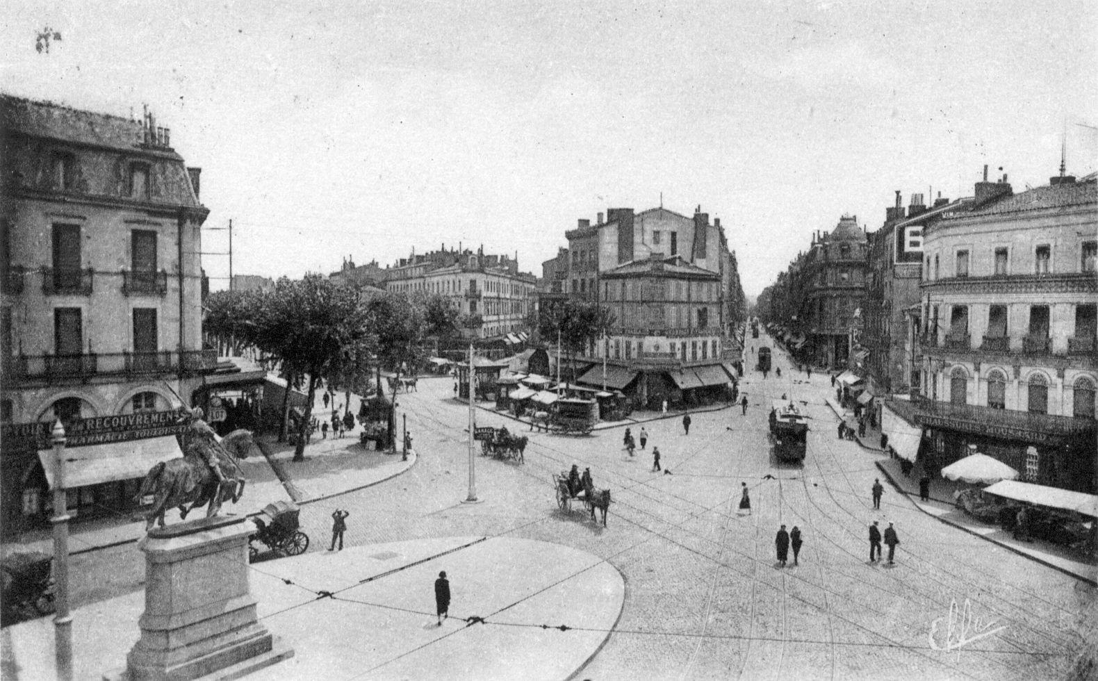 """Résultat de recherche d'images pour """"toulouse photographe XIXème siècle""""   Carte postale ..."""