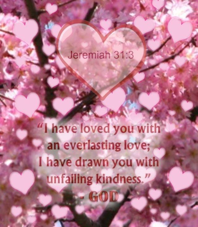 Jeremiah 31:3 - made by Karen Munoz Silvas with Bazaart #collage ...
