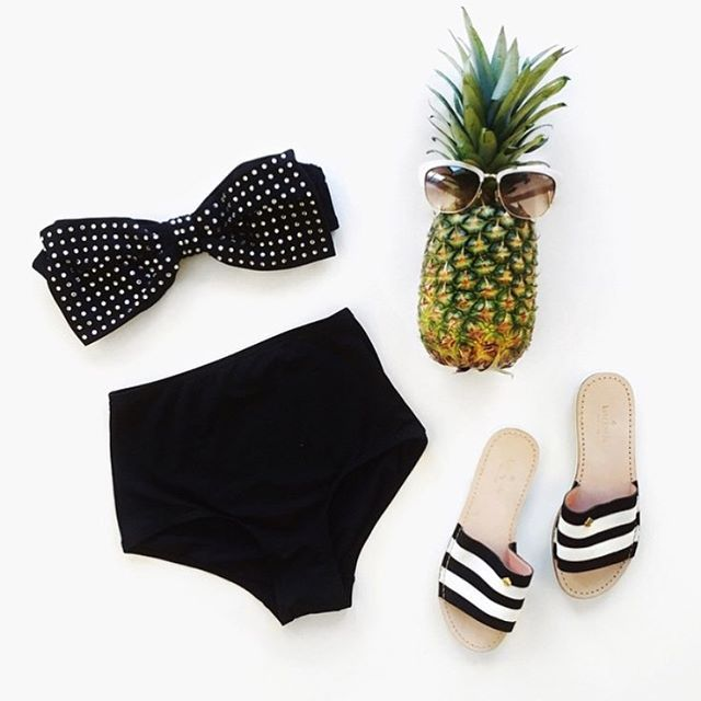 If you like piña coladas and getting caught in the rain  Hello weekend! See you poolside!  #katespade #katespadenyc #swimwear #bikini #weekend #weekendvibes #letsgo #escape
