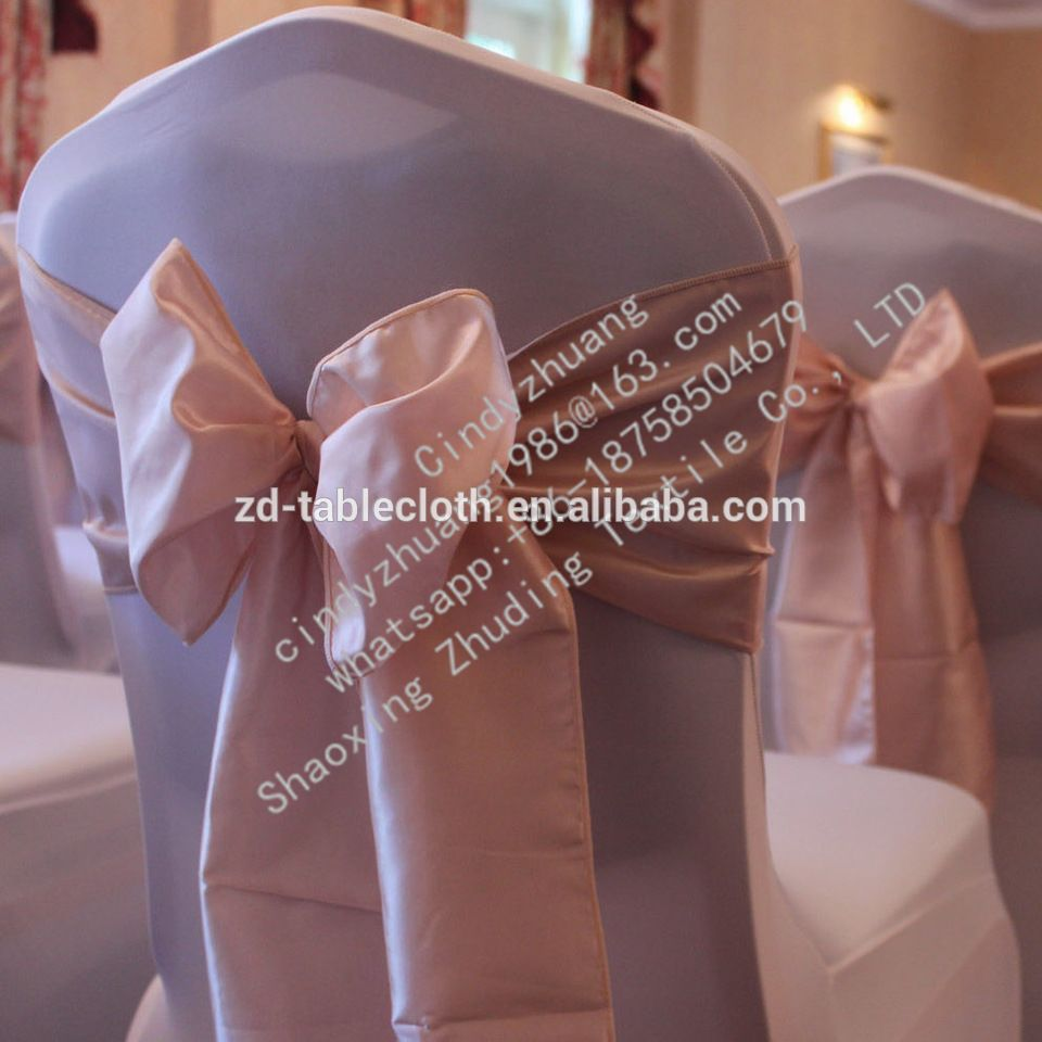 rose gold satin chair sashes design master furniture chairs cheap hot for wedding alibaba
