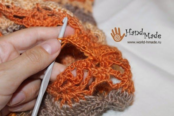 Free crochet patterns and video tutorials: how to crochet cowl snood ...
