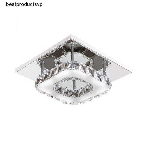 Ebay crystal ceiling flush mount light fixture modern led ebay crystal ceiling flush mount light fixture modern aloadofball Image collections