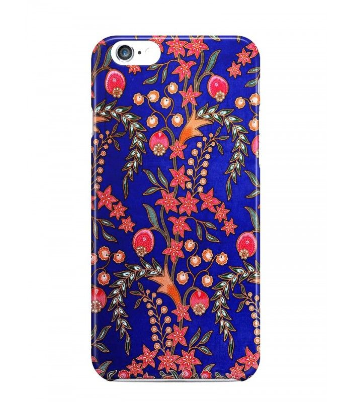 Wheat And Red Flowers Batik 3D Iphone Case For Iphone 3G/4