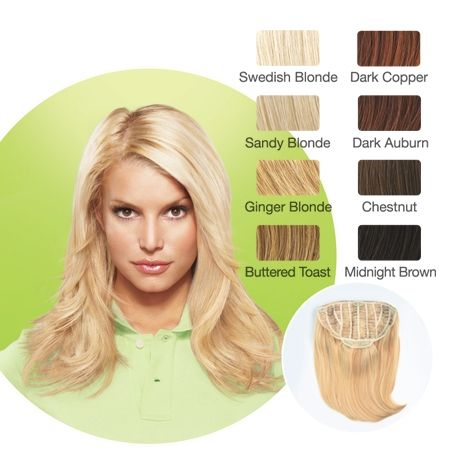 Jessica simpson hair extensions color chart