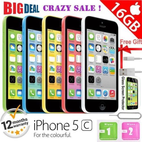 Apple iPhone 5c 16GB Factory Unlocked Mobile Smartphone - Various Colours UK https://t.co/ujzgmVlHy0 https://t.co/ThfyhN88nL