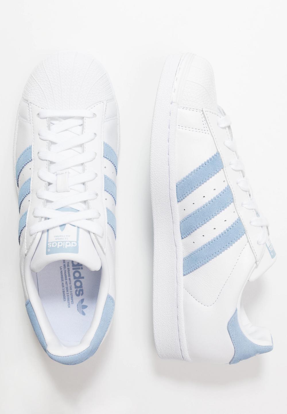 adidas Originals SUPERSTAR - Baskets basses - footwear white/glow ...