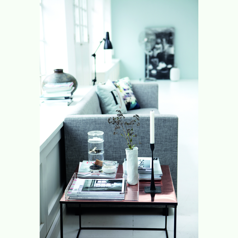 Cube-pöytä House Doctor -merkiltä. Puhdaslinjainen, neliön muotoinen pöyt&#...
