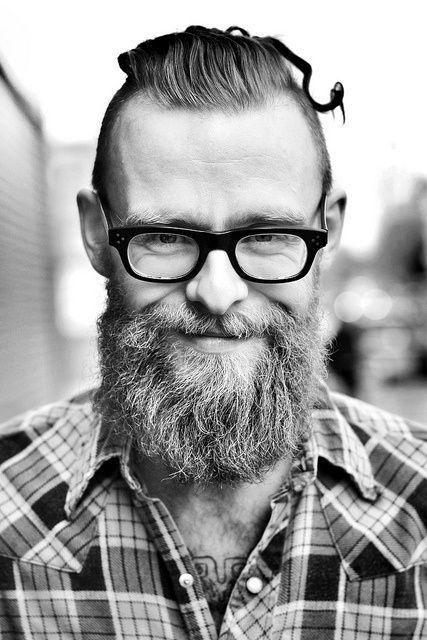 barbe de hypster old school