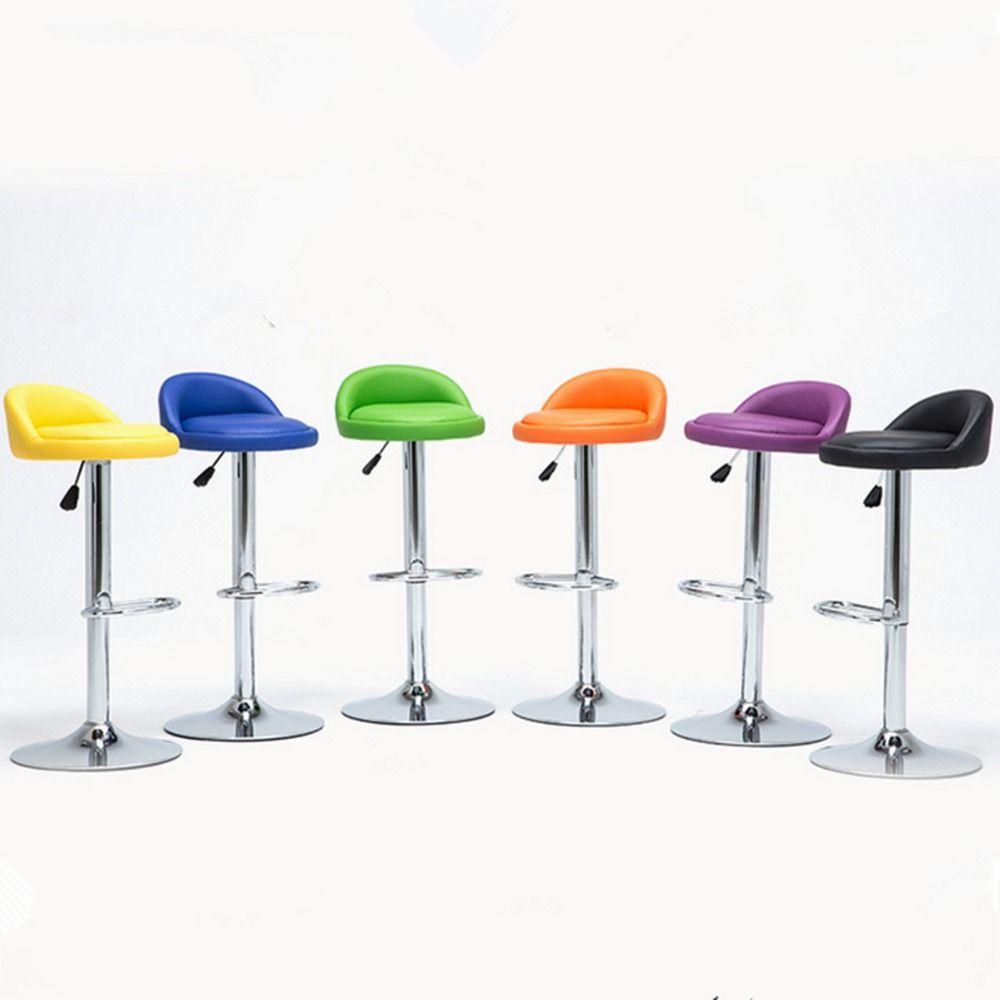1 pc swivel bar stool modern adjustable height metal diner seat 1 pc swivel bar stool modern adjustable height metal diner seat chair hydraulic watchthetrailerfo