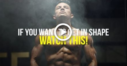 If You Want to Lose Weight & Get in Shape, WATCH THIS! Motivation for Workout #fitness