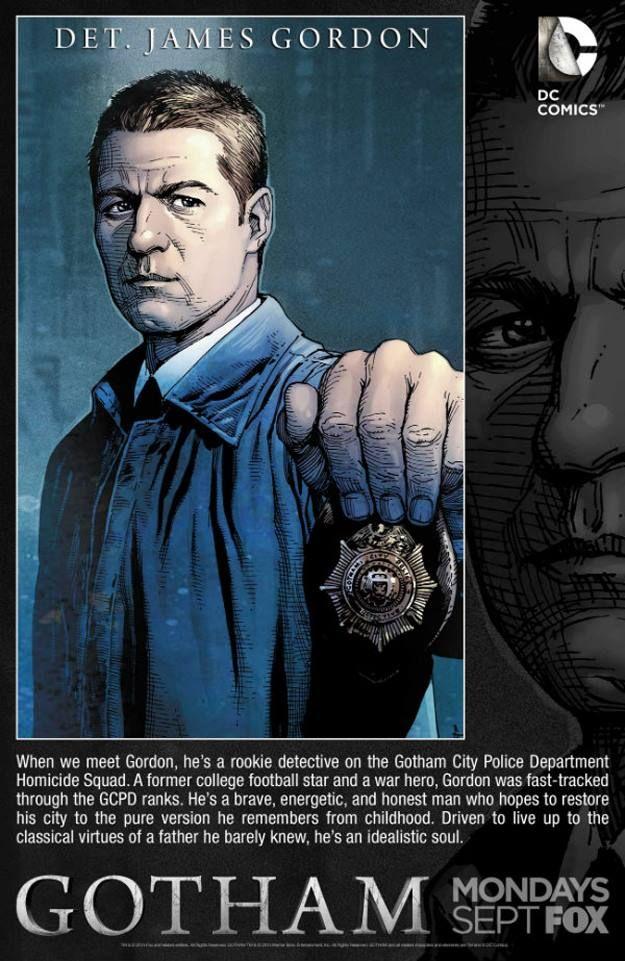 Gotham - Detective James Gordon by Gary Frank, colours by Rod Reis *