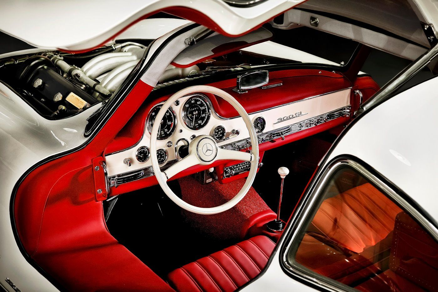 300sl Interior With Images Mercedes Benz 300 Mercedes Benz