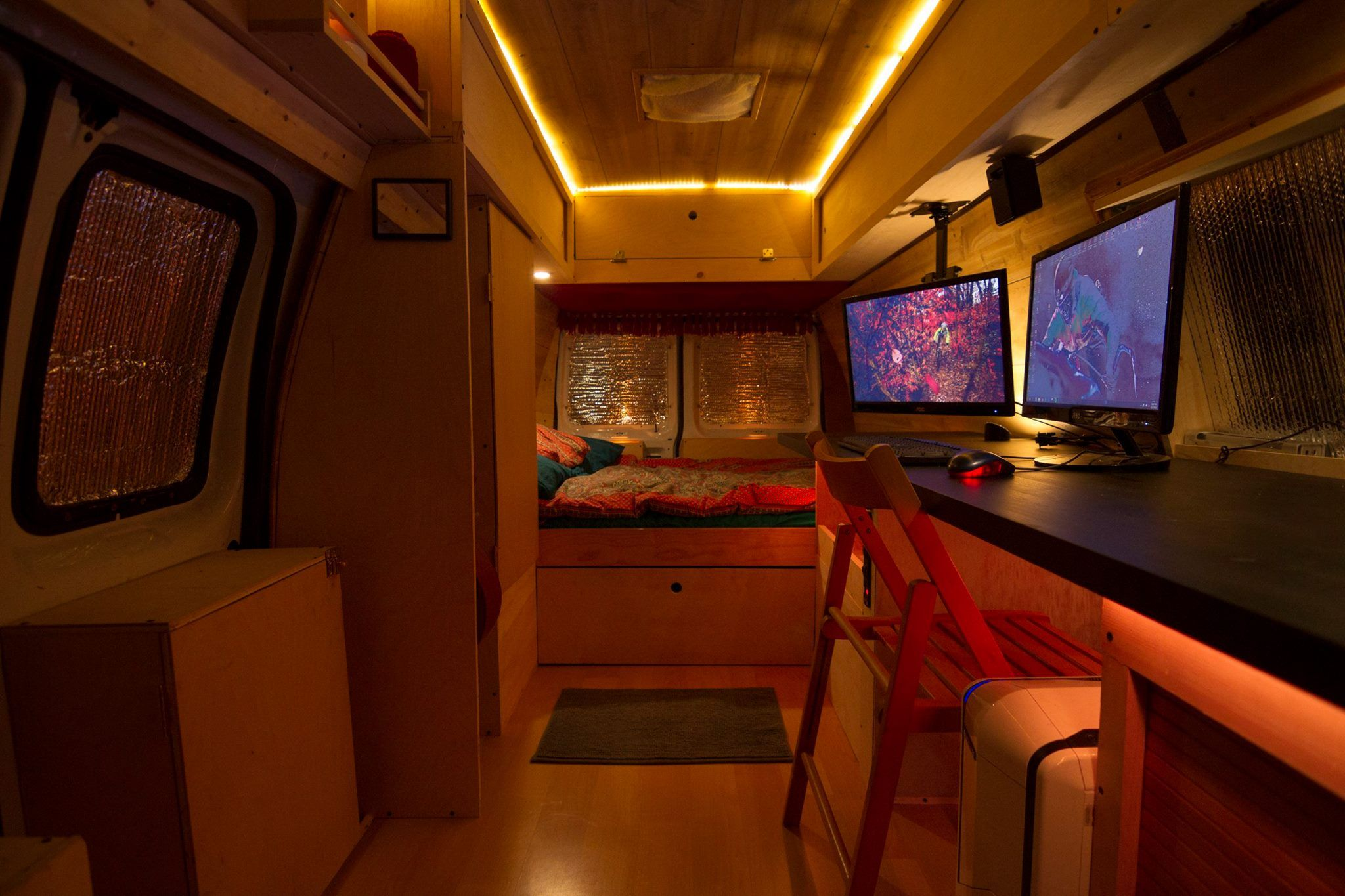 How I turned an old NYPD Surveillance van into a home. (#QuickCrafter)
