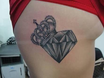 Resultado de imagen para diamante rosa tattoo