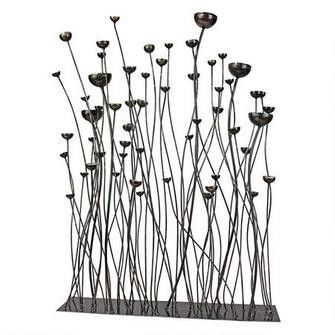 Prairie Grasses Metal Sculpture