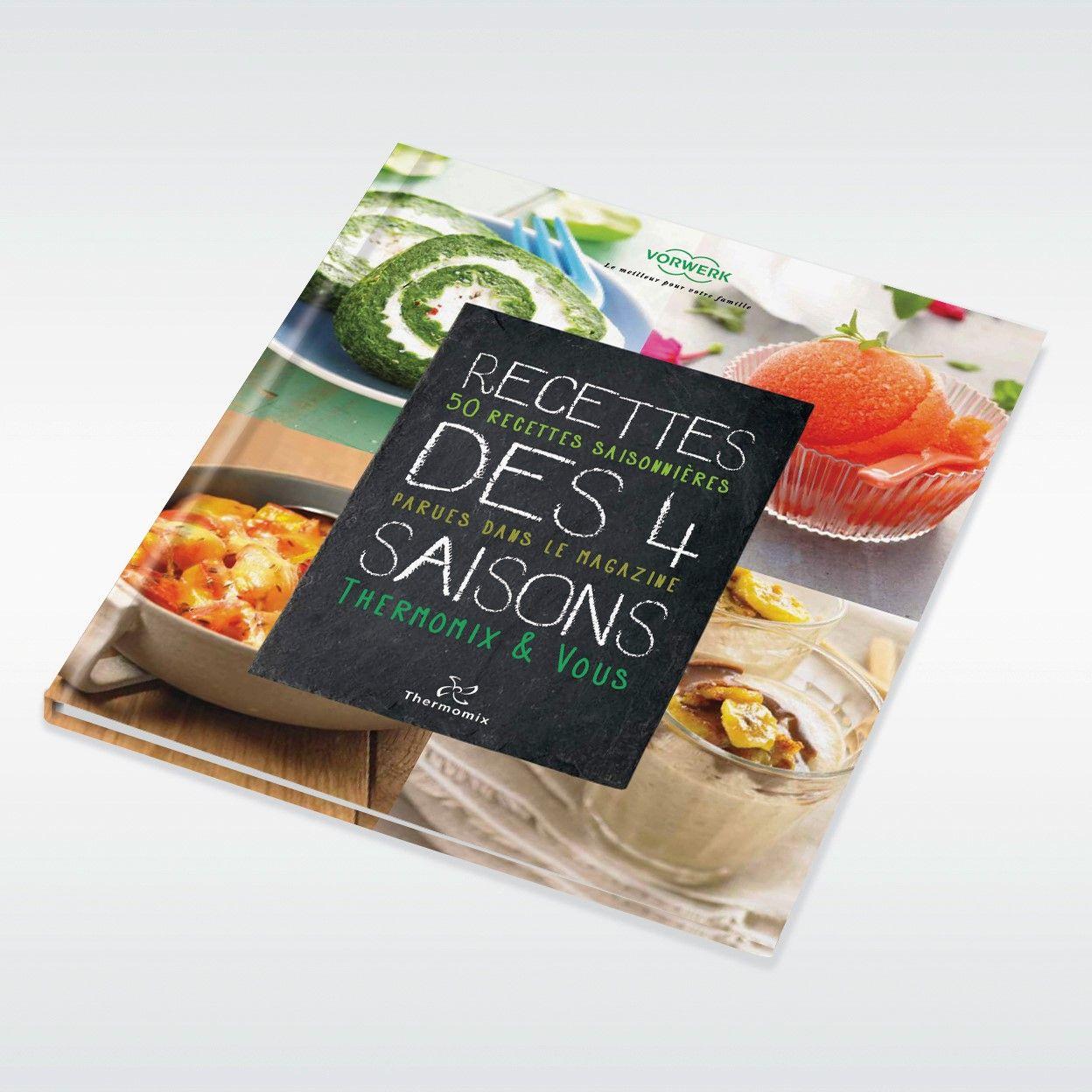 livre recettes des 4 saisons livres de recettes thermomix - Livres De Cuisine Thermomix