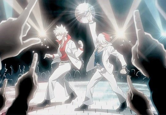 My hero academy  #myheroacademia #todoroki #bakugoukatsuki #dance #anime #animememes #party