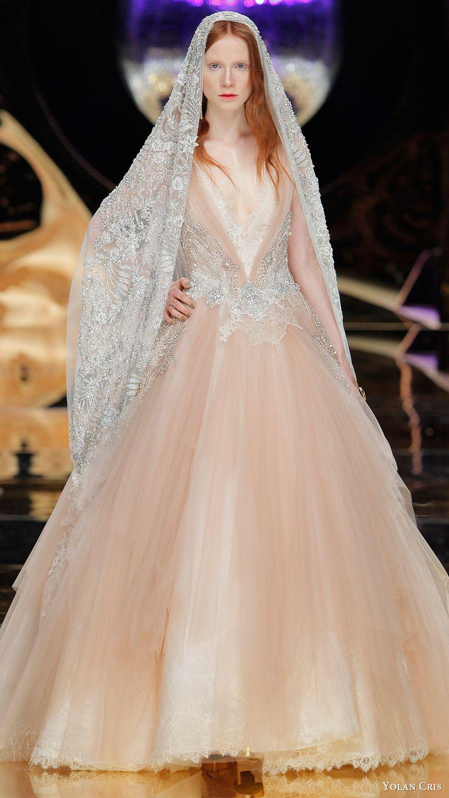 Yolan Cris Bridal 2017 Wedding Dresses | Menyasszonyi ruhák - színes ...
