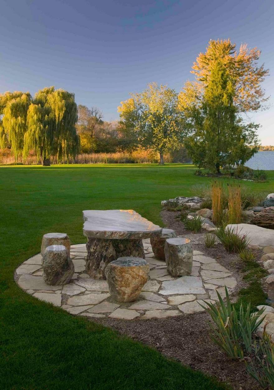charming garden seating ideas native design | Best and Charming Landscaping Ideas | Garden sitting areas ...