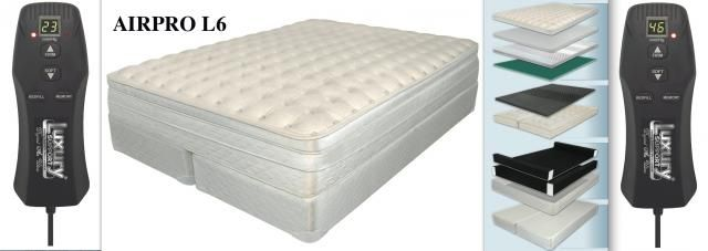 Airpro Luxury Series Adjustable Air Beds Air Bed Bed Bed Parts