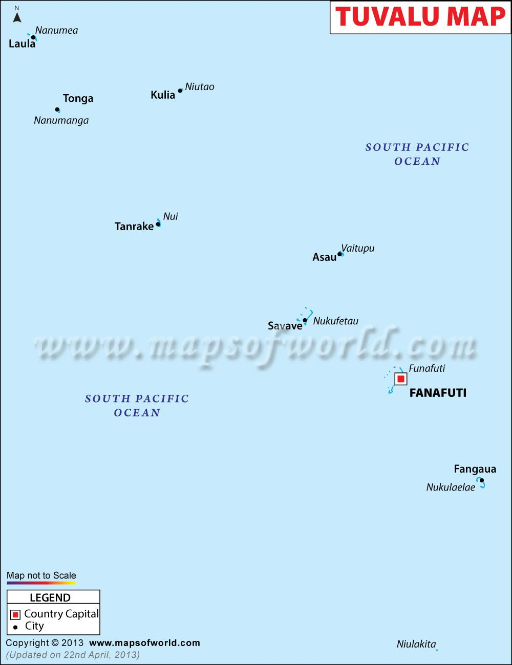 Tuvalu is the least visited country in the world Is it because its
