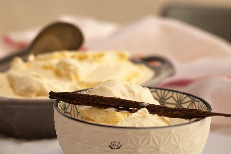 Glace vanille – Recette crème glacée vanille