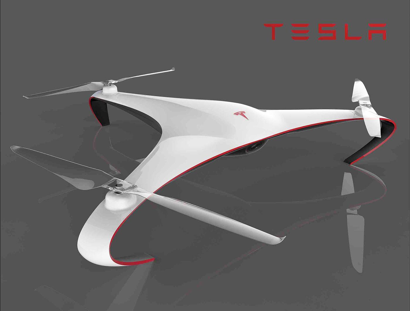 Tesla Drone: Aurora by Alberto Esses   Car Design Projects ...