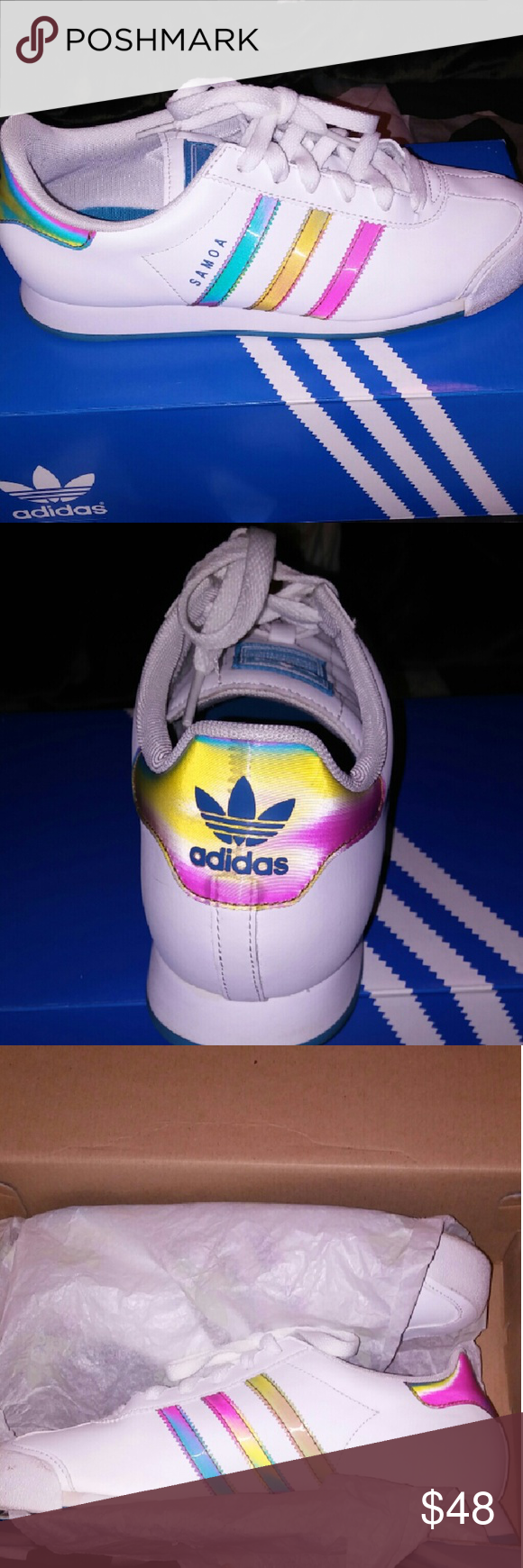 Adidas samoas Like new. Worn once for an hr if not less. Adidas Shoes Sneakers