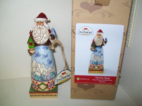 Jim Shore Holiday Song 4014290 Christmas Santa Birds New in Orig Box w Tags | eBay
