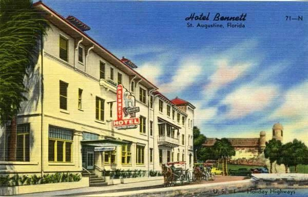 Hotel Bennet St Augustine Fl Florida Hotels St Augustine St Augustine Florida