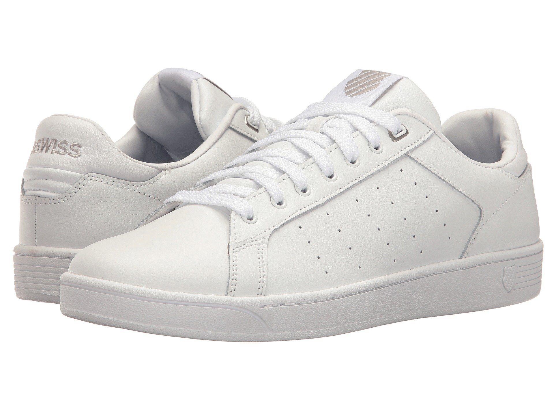 K-swiss Clean Court Cmf, White/gull