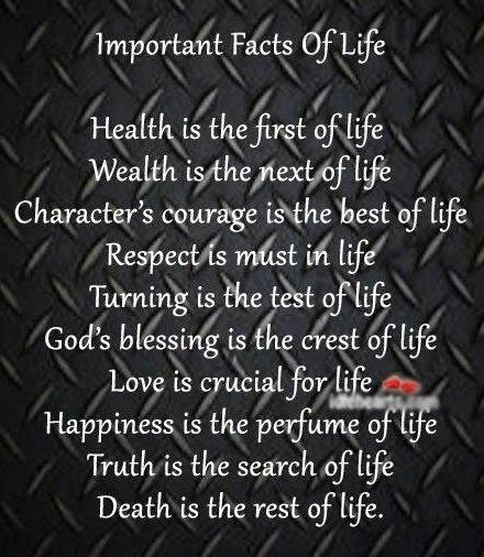 Important Facts Of LIfe Quotes Good Quotes Quotes Facts Simple Images Of Facts Of Life Quotes