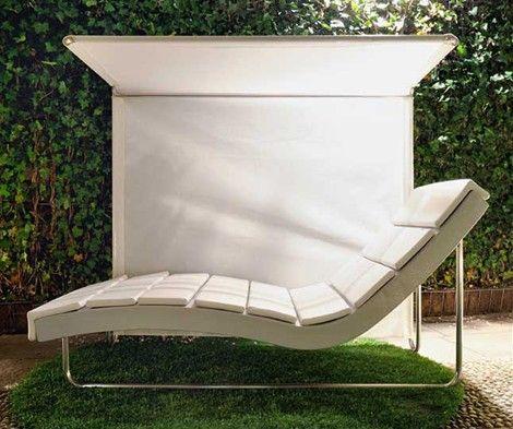Moderne ligstoel voor buiten exterieur buiten for Ligstoel buiten