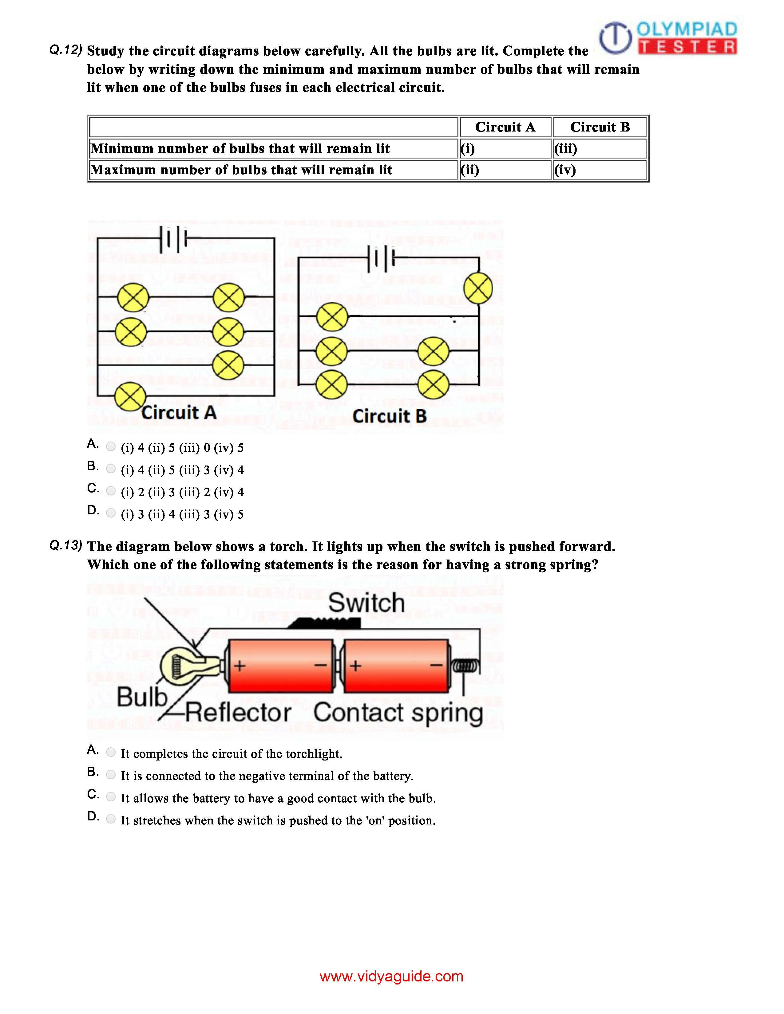 Electricity Amp Circuits