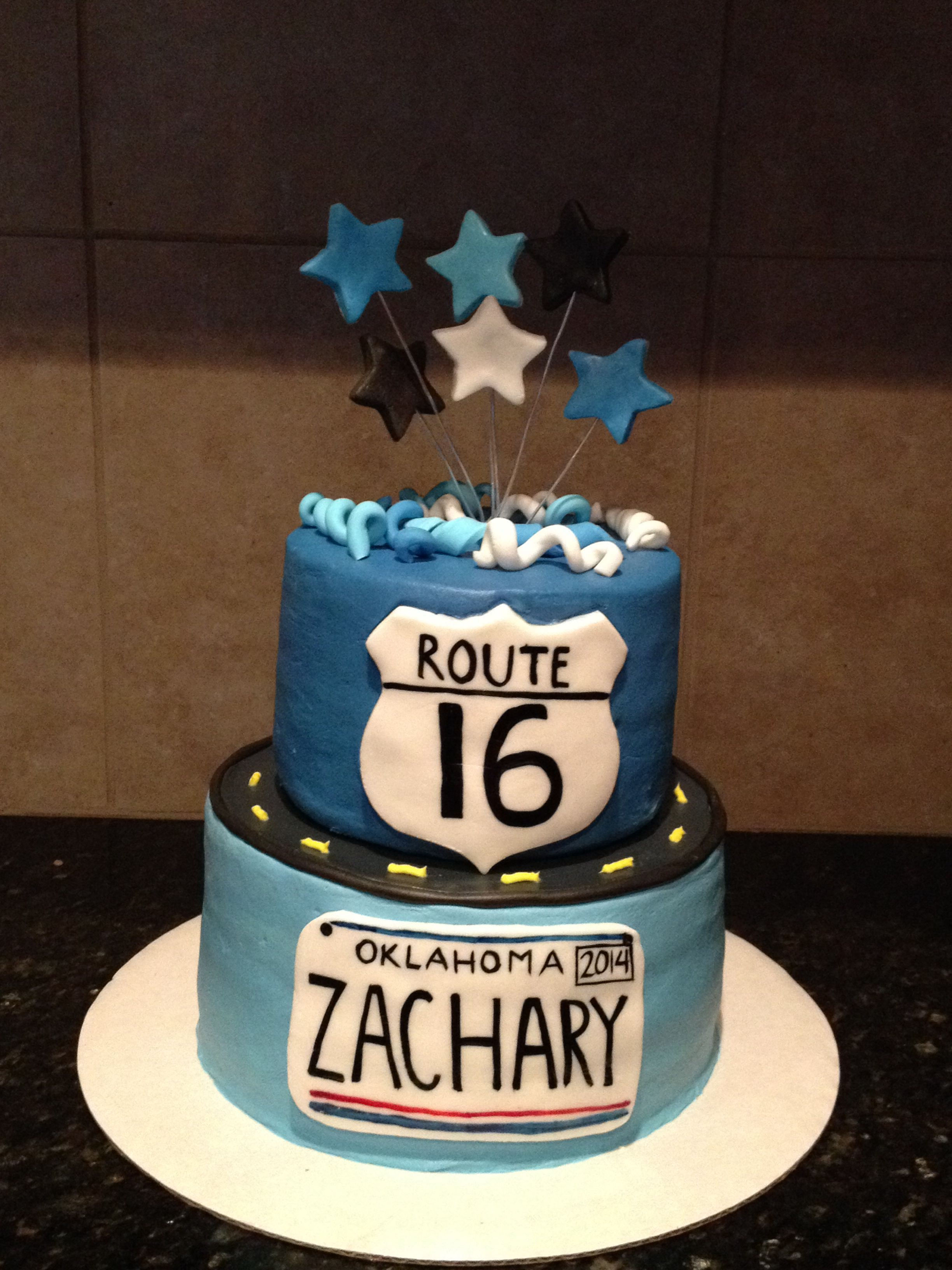 16th Birthday For A Boy Sweetartdesigns Beautiful Cakes