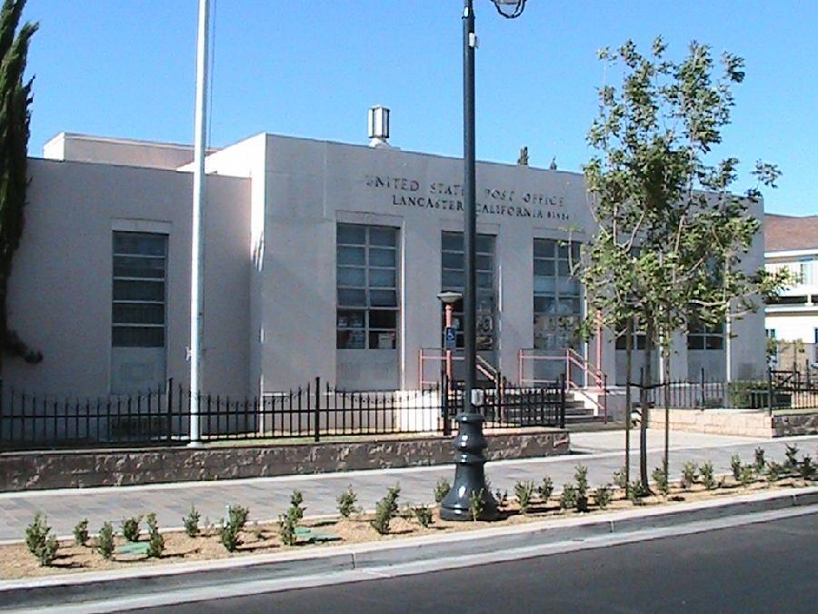 Old Post Office On Lancaster Blvd Lancaster Ca Lancaster California California History Places Of Interest
