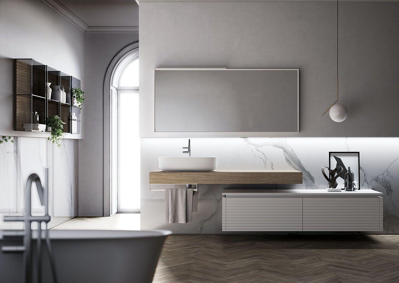 Arredo bagno: soluzioni moderne e sofisticate La collezione ...