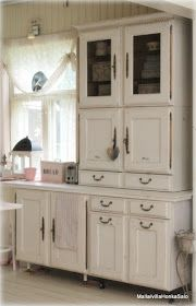 These cottage cabinets are awesome!