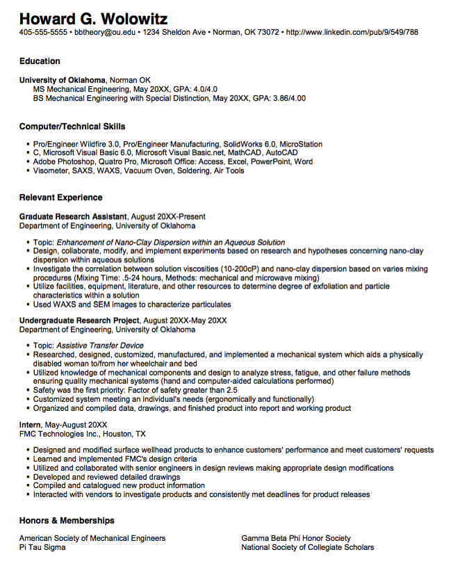graduate student sample resume    resumesdesign com