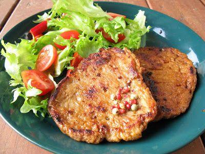 kasvisruokaa: Seitanpihvit