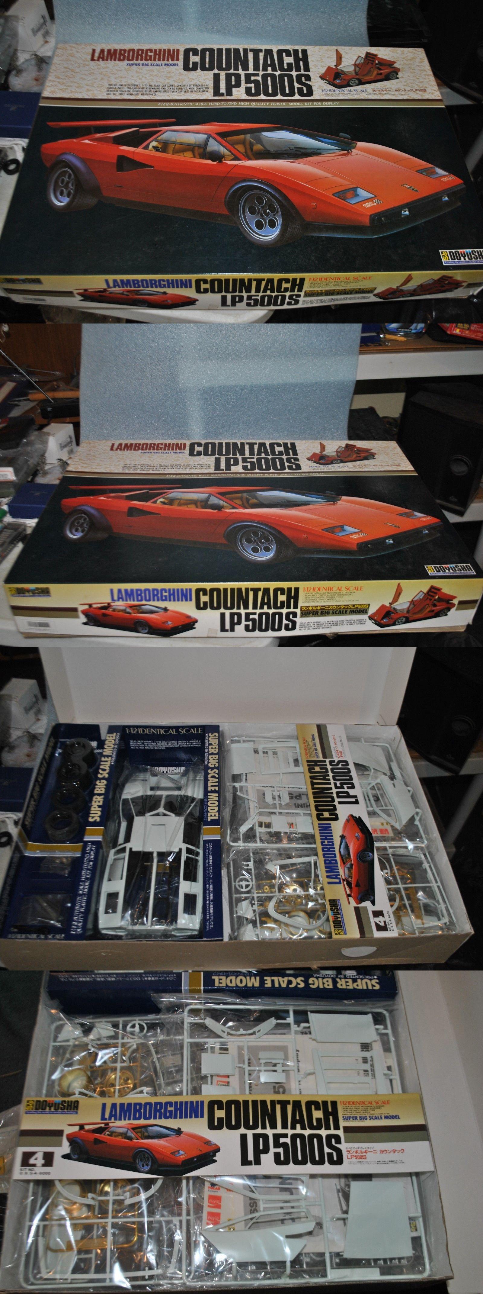1 12 Scale 145972 Doyusha 1 12 Lamborghini Countach Lp500s Super